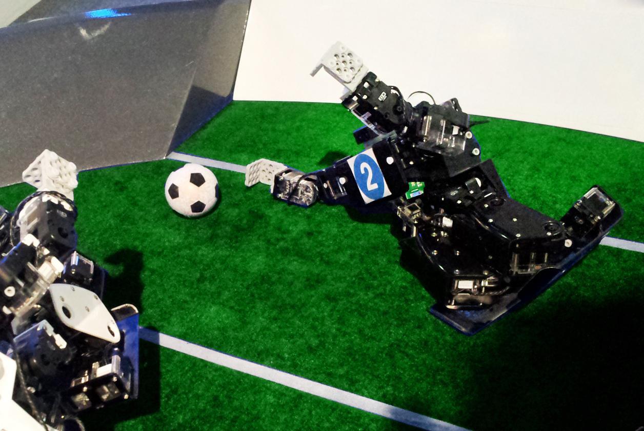 RQ-Huno Football Player Goalkeeper Robot Humanoid