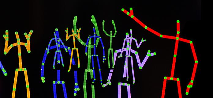 Kinect Skeletons