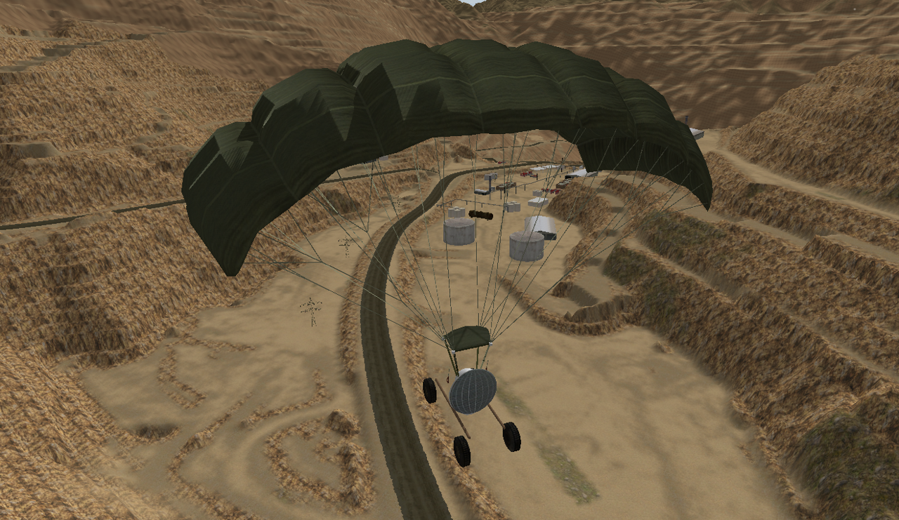 Paramotor Simulation with Unity3D Game Engine