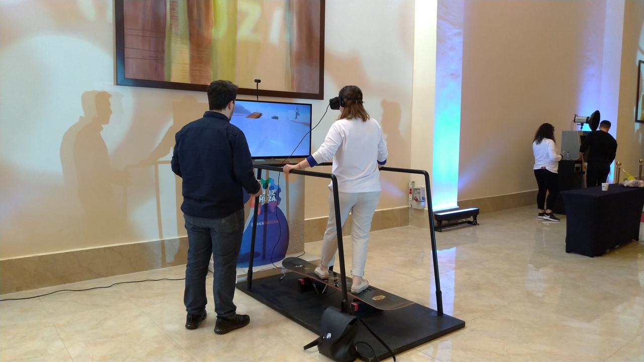 Snowboard Simulation VR Game