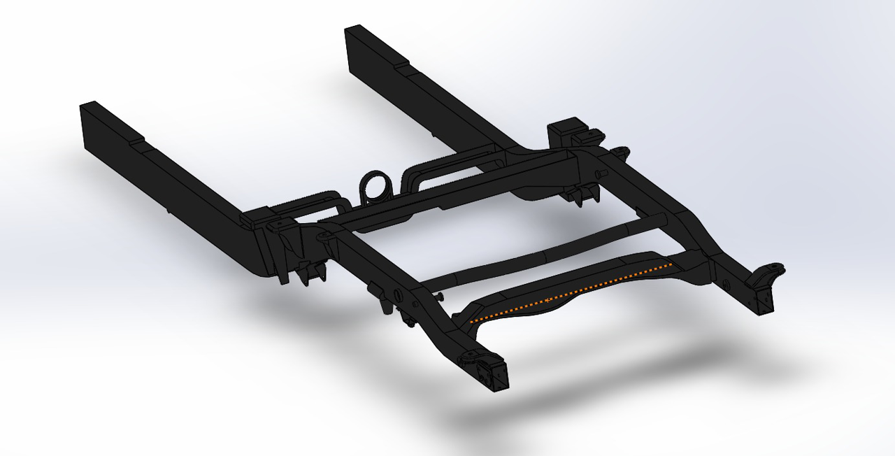 Nissan Frontier Back Chassis